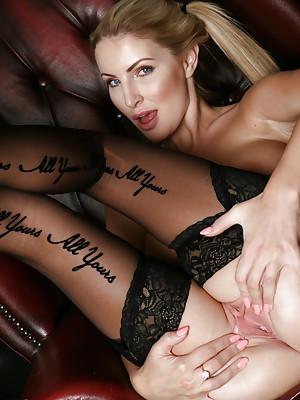 Georgie Lyall Stunning Blonde MILF