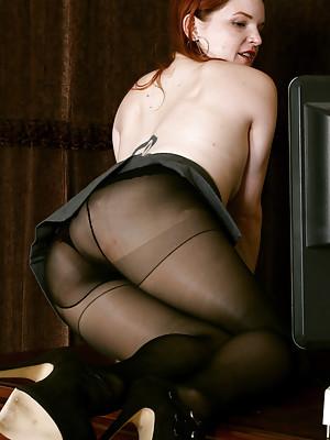 Hot Secretary Ivy Blair