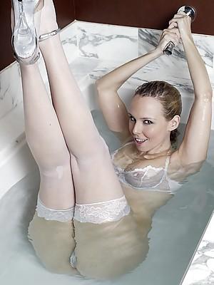 Watch My Wife Masturbate In Wet Lingerie