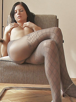 Anastasija takes on pantyhose